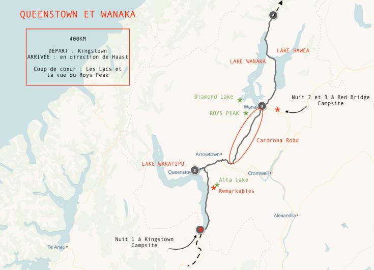 RoadTrip 5 - Queenstown et Wanaka