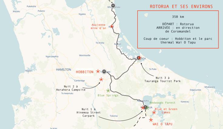RoadTrip 12 - De Rotorua à la terre du milieu